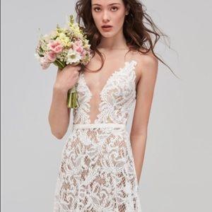 Willowby by Watters Asa Lace Wedding Dress Sz 10